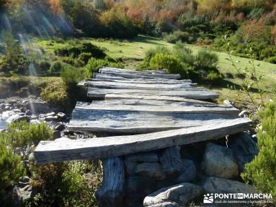Ancares lucenses; viaje Puente noviembre; lagunas de gredos puente almudena